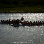 Dragonboat Racing on the Donau