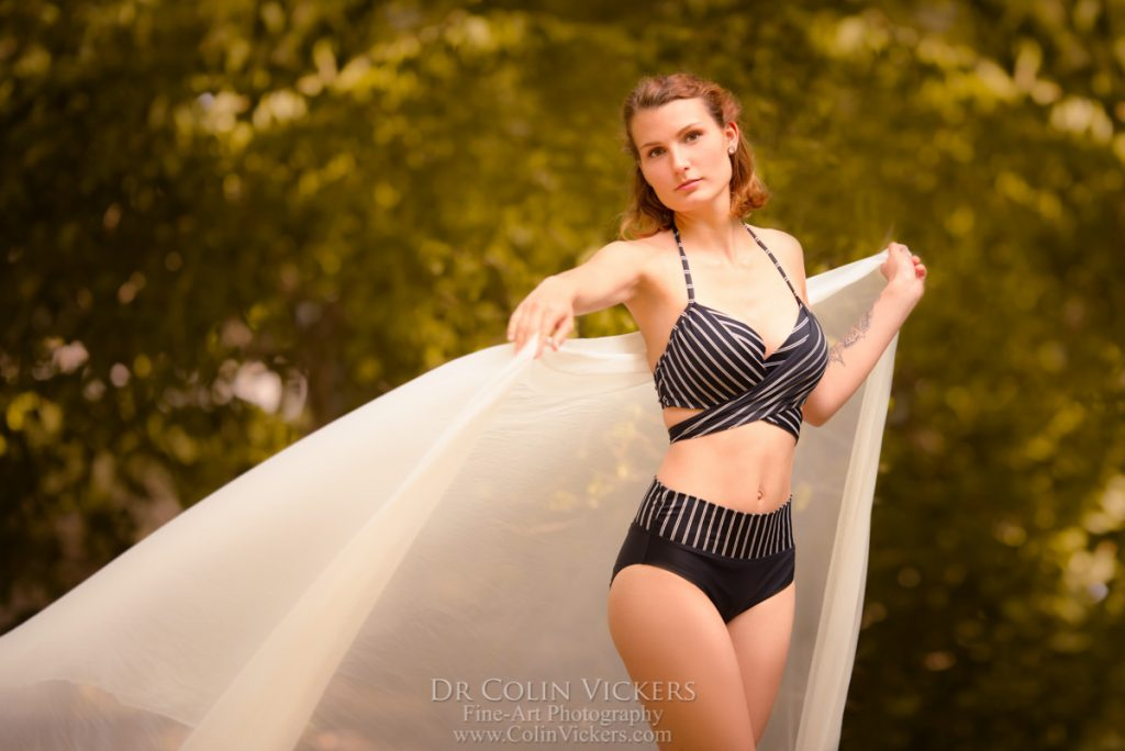Bikini Photos in Vienna's Prater - by Photographer Dr Colin Vickers