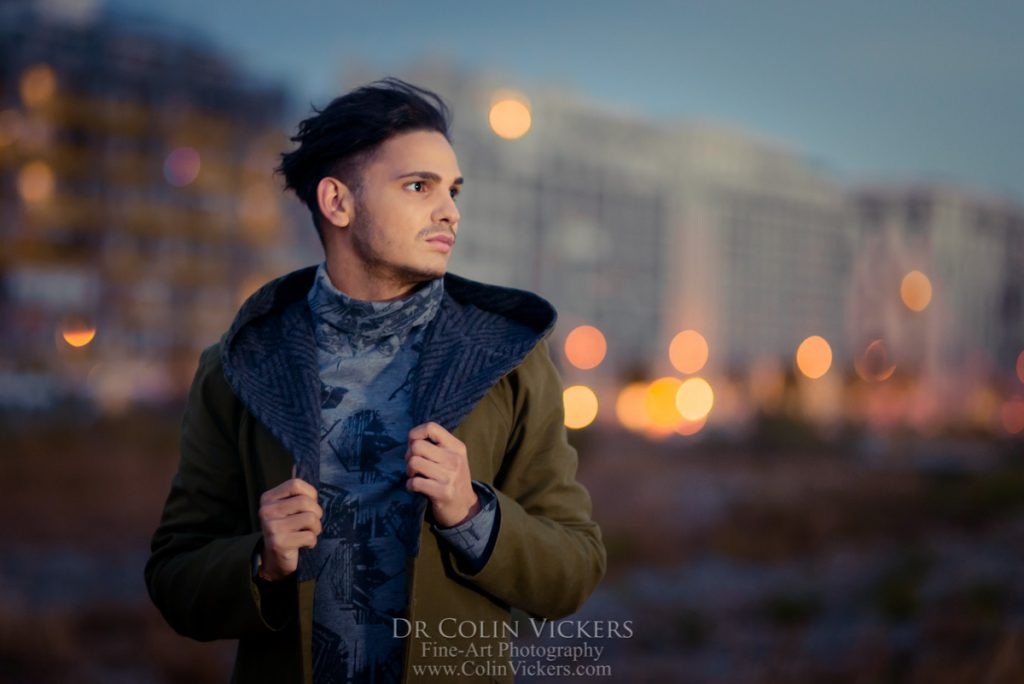 Vienna Dusk Portrait Photography by Dr Colin Vickers