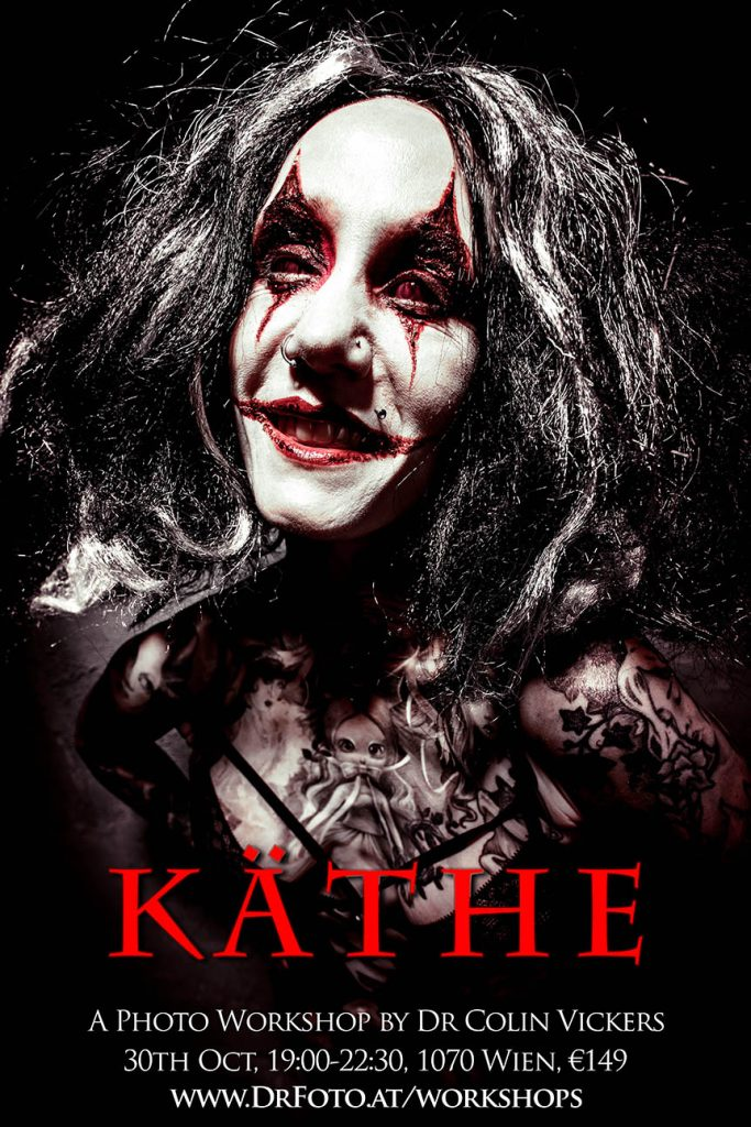 Crazy Psycho Killer Käthe - Horror Photography Halloween Photoshoot