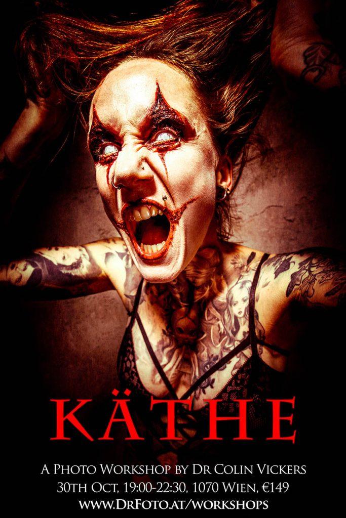 Crazy Psycho Killer Käthe - Horror Photography Halloween Photoshoot