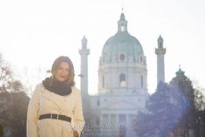 Vacation Photographer Vienna - Karls Kirche
