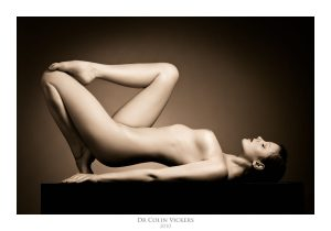 Fine Art Photographer Vienna - Nude Woman Lies On A Box