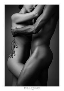 Fine Art Nude Photographer Vienna - Nude Couple Embrace
