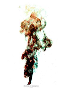 Fine Art Nude Photographer Vienna - Astract Art Colours Mixing Together
