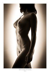 Fine Art Nude Photographer Vienna - Nude Woman Standing