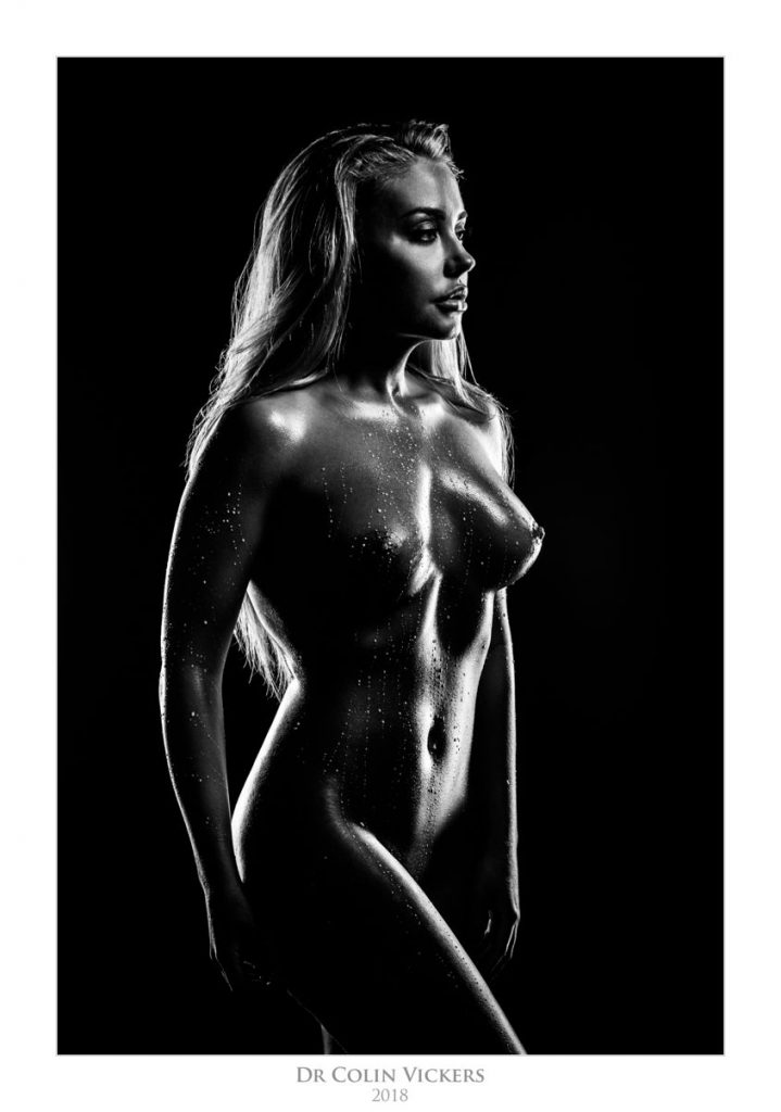 Amber Karis Bassick oily nude